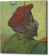 Portrait Of Gauguin Arles December 1888 Vincent Van Gogh 1853  1890 Canvas Print