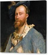 Portrait Of Gustave Courtois Canvas Print