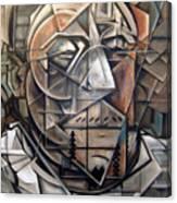 Portrait Of H Canvas Print
