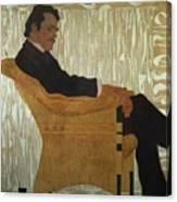 Portrait Of Hans Massmann Canvas Print