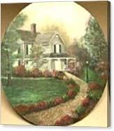 Portrait Of Home Canvas Print