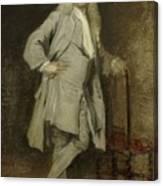 Portrait Of Jan Lepeltak Canvas Print