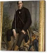 Portrait Of John Bowes Canvas Print