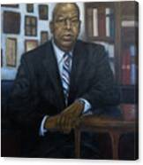 Portrait Of John Lewis Canvas Print
