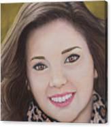 Portrait Of Kaitlyn Canvas Print