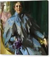 Portrait Of Lilly Eberhard Anheuser Anders Zorn Canvas Print