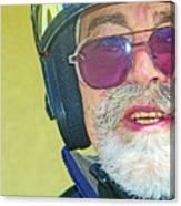 Portrait Of Lou Canvas Print