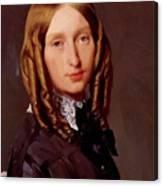 Portrait Of Madame Frederic Reiset 1847 Canvas Print