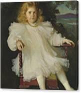 Portrait Of Marjorie Coldwell Westinghouse  Canvas Print