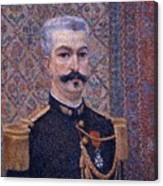 Portrait Of Monsieur Pool 1887 Canvas Print