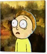 Portrait Of Morty Canvas Print