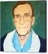 Portrait Of Mr. Roy Moore Canvas Print
