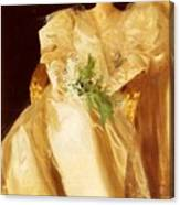 Portrait Of Mrs Eben Richards Anders Zorn Canvas Print
