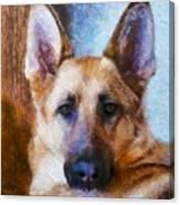 Portrait  Of My Friend 2015  Canvas Print