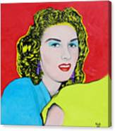 Portrait Of My Mother Canvas Print