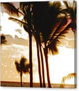 Portrait Of Paradise Canvas Print