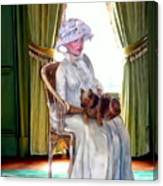 Portrait Of Prudence Canvas Print
