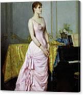 Portrait Of Rose Caron Canvas Print
