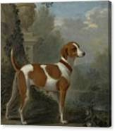 Portrait Of The Duke Of Hamilton Hound Canvas Print