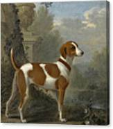 Portrait Of The Duke Of Hamilton's Hound Jewell Canvas Print