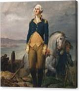 Portrait Of Washington Canvas Print