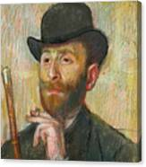 Portrait Of Zacherie Zacharian Canvas Print