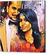 Portrait Pop Art Canvas Print