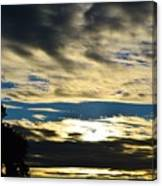 Portrait Sunrise Canvas Print