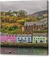 Portree Harbour Canvas Print