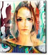 Portret Canvas Print