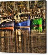 Portsmouth Boats Canvas Print