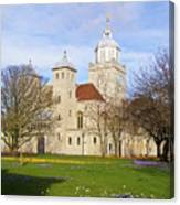 Portsmouth Cathedral In Springtime Canvas Print