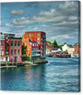 Portsmouth Harbor Canvas Print