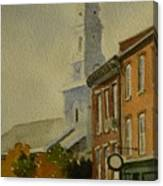 Portsmouth North Church Tower Canvas Print