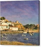 Portugal, Ferragudo Village  Canvas Print