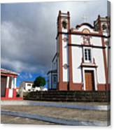 Portuguese Church Canvas Print