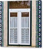 Portuguese Window Canvas Print