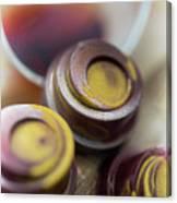 Portwine Infused Chocolates Canvas Print