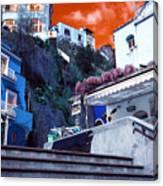 Positano Living Pop Art Canvas Print