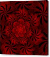 Positively Red Canvas Print