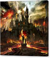Post Apocalyptic Disneyland Canvas Print