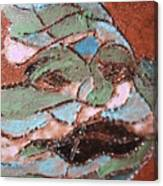 Post Carnival Blues Tile Canvas Print