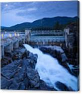 Post Falls Dam Canvas Print