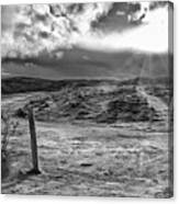 Post Of Nowhere Canvas Print