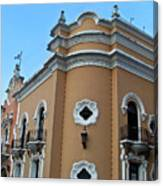 Post Office  Guatamala City 5 Canvas Print