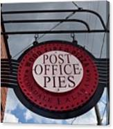 Post Office Pies Canvas Print