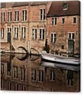 Postcard Canal II Canvas Print