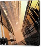 Poster-city 2 Canvas Print