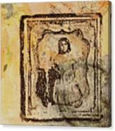 Postmark Girl Canvas Print