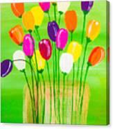 Pot O'tulips Canvas Print